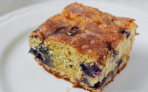 Blueberry Boy Bait (Blueberry Coffee Cake)