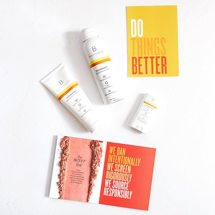 Beautycounter Mineral Non-Nano Sunscreens