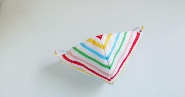 Summer Rainbow Stripes (top view)