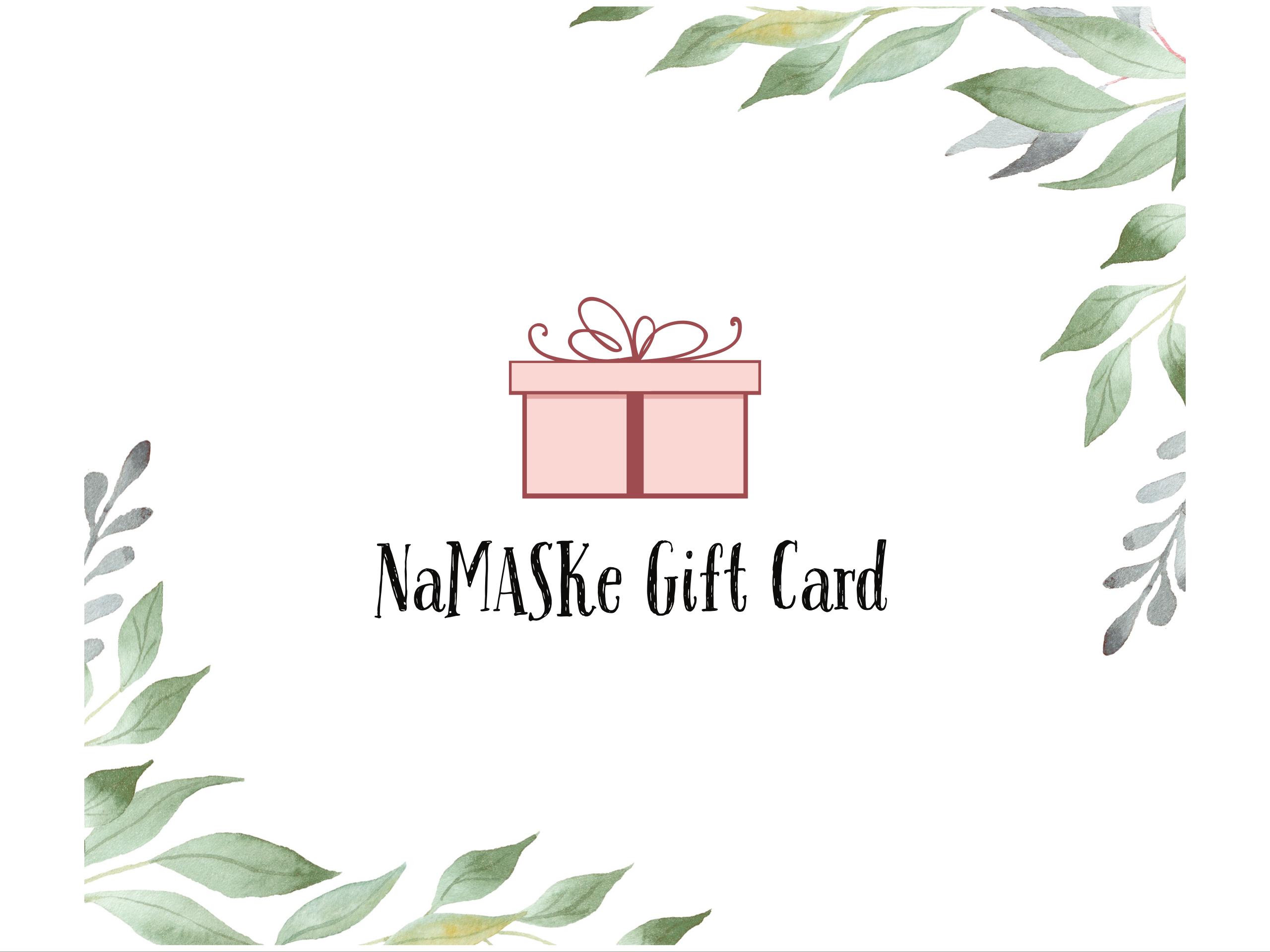 Namaske Gift Card