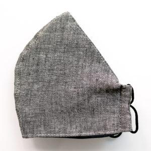 Belize Linen Cotton - Four Layer Structured Reusable Mask